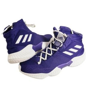 adidas Men's Pro Bounce Basketball shoes Purple 8